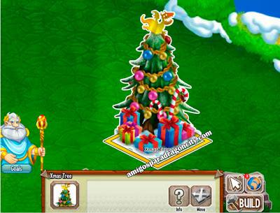 imagen del adorno del arbol de navidad de dragon city