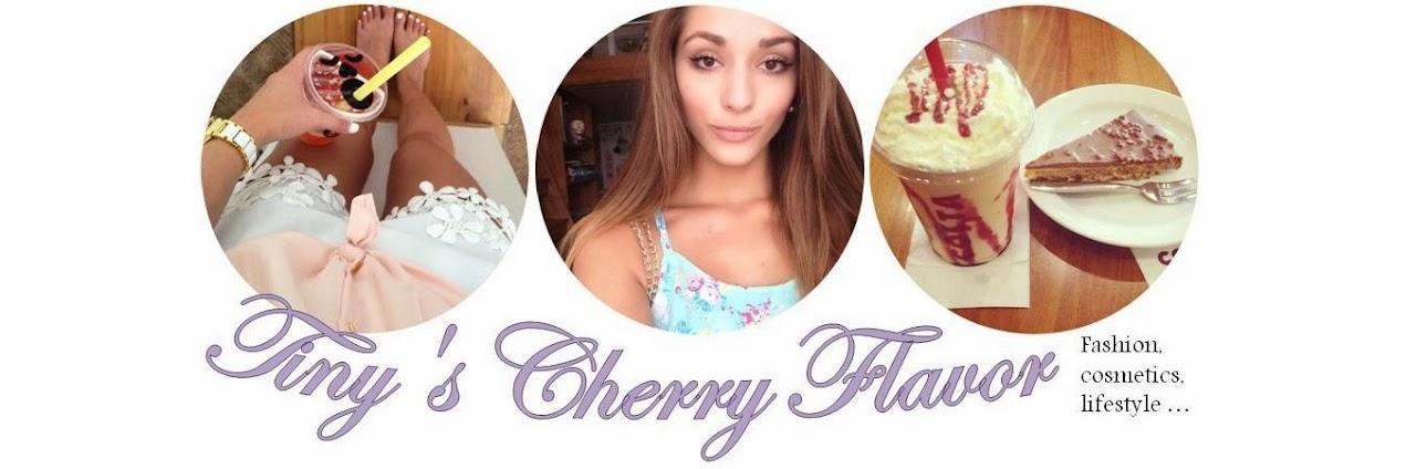 Tiny´s cherry flavor