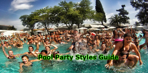 Pool Party Styles Guide