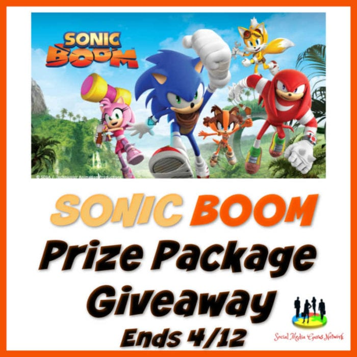 Sonic Boom Package Giveaway