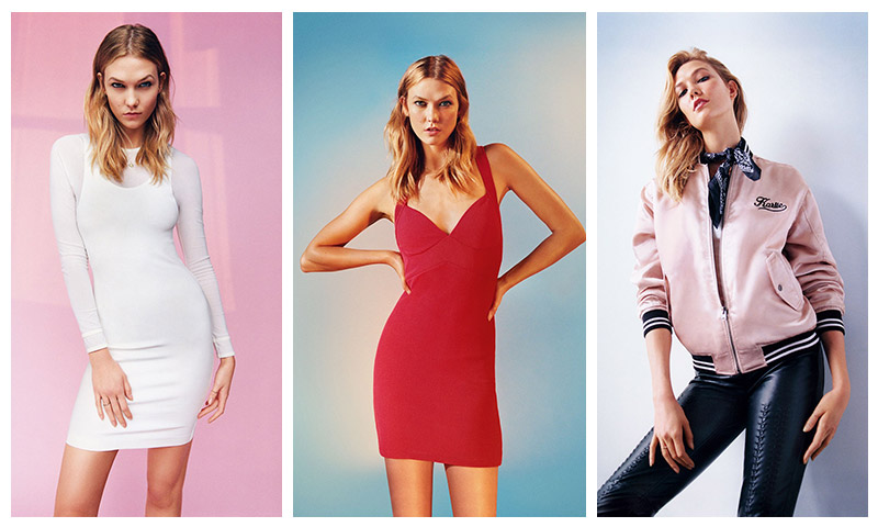 Topshop Spring/Summer 2016 Campaign featuring Karlie Kloss