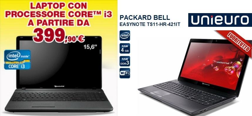Equatech notebook a 399 da unieuro - Unieuro porta tv ...