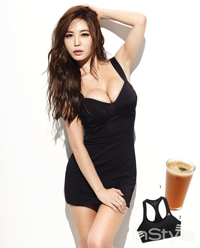 Kang Yebin - InStyle June 2014