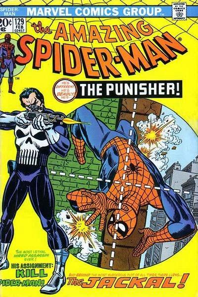 Amazing Spider-Man #129, the Punisher