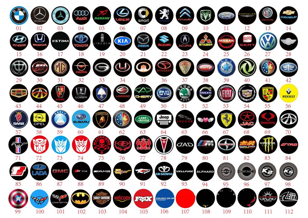 Auto Car Logos: 07/01/13