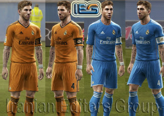 Download Real Madrid Away & Third Kits 13-14 by SRT
