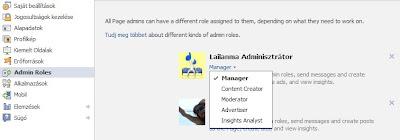 Admin Roles - aminisztrátori szerepkörök beállítása