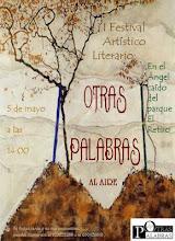 """Festival Arrtístico Literario """"Otras Palabras al aire"""""""