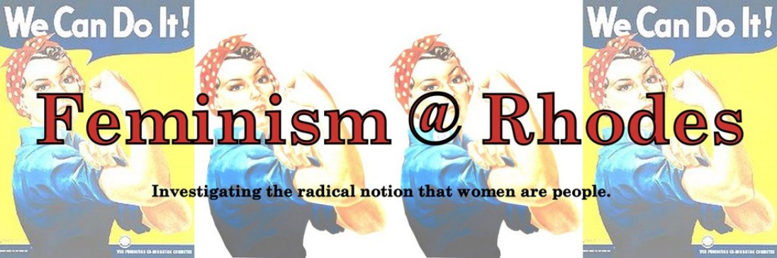 Feminism @ Rhodes