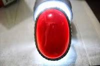 Batu Akik Cempaka Merah Delima