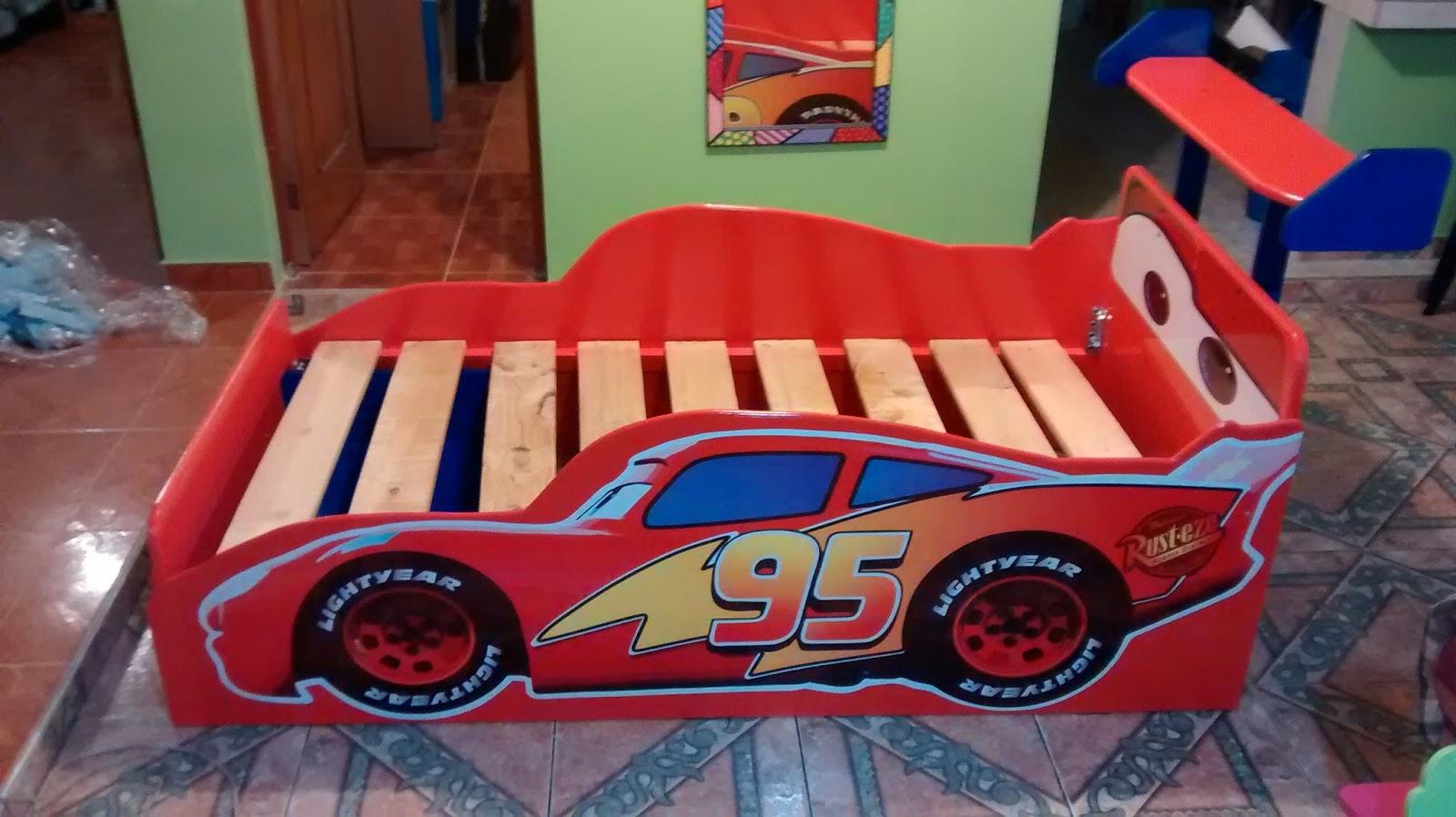 Galeria arte y dise o madekids cama infantil cars rayo - Cama infantil cars ...