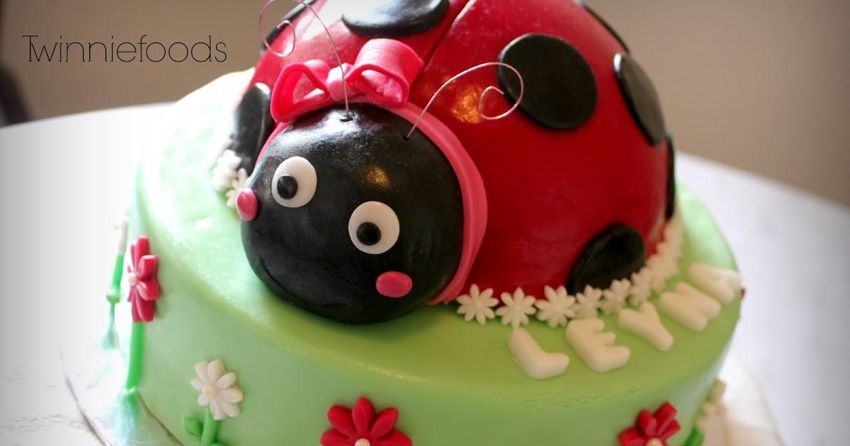 Ladybug Cake Creations