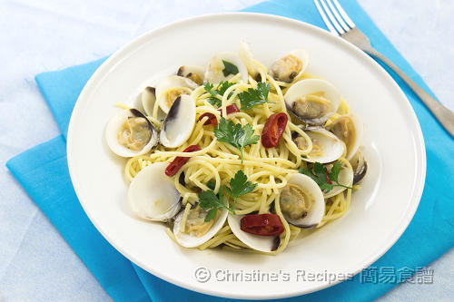 香草蜆意粉 Spaghetti with Clams02