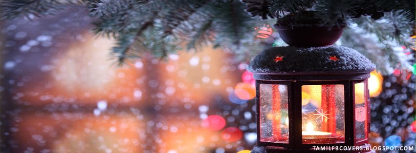 My India FB Covers: Magical Christmas - Merry Christmas FB Cover