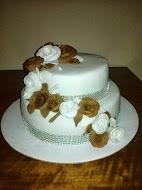 Hnedo-biela torta