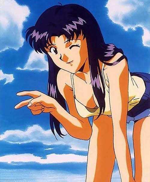 Misato Katsuragi hot