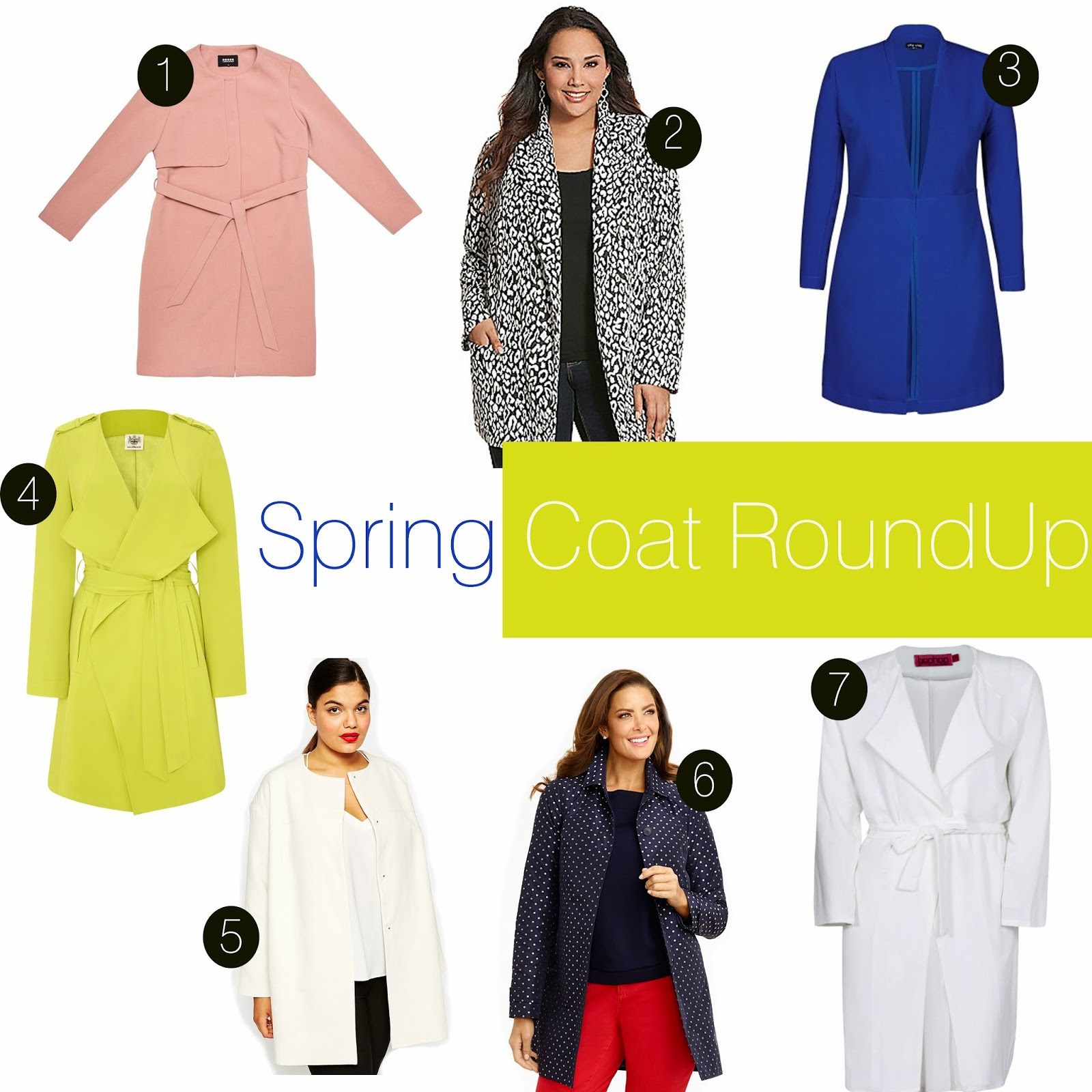 Plus Size Spring Coats