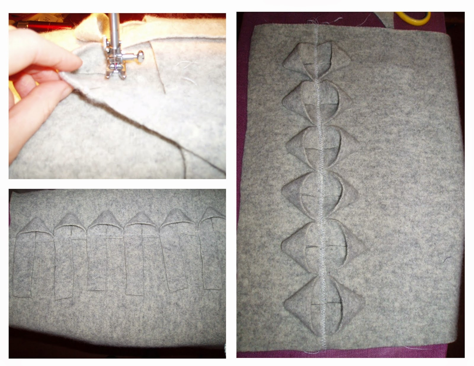 felted sweater remake cushion