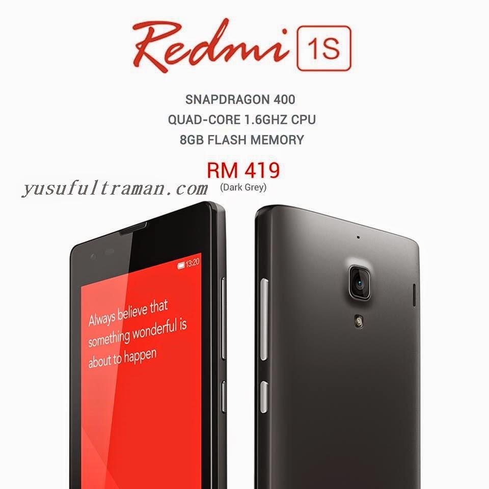 Spesifikasi Dan Harga Xiaomi Redmi 1s Info Grey