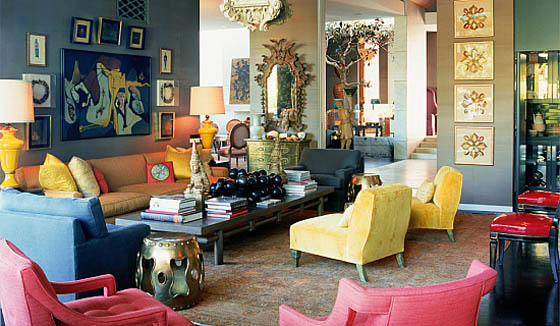 ART, interiors & more: Kelly Wearstler - maximalism interior design