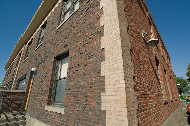 quoined brick corners images
