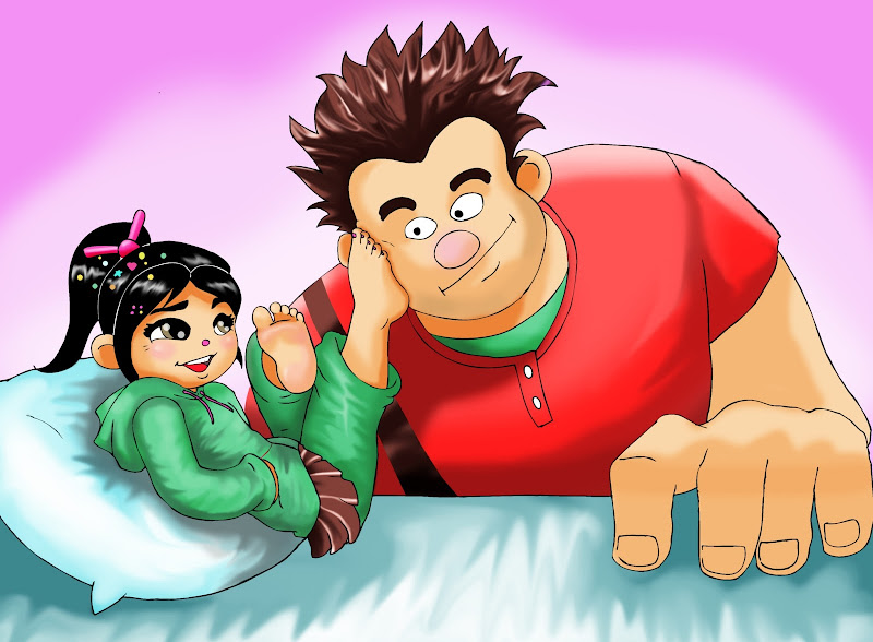 Good Night Vanellope title=