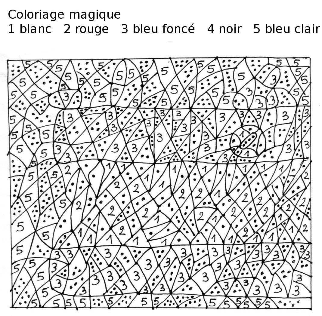 Maternelle coloriage magique loup - Coloriage magique loup ...