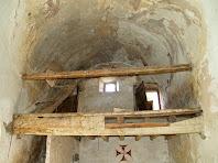 Detall del petit cor de l'església de Sant Jaume d'Olzinelles