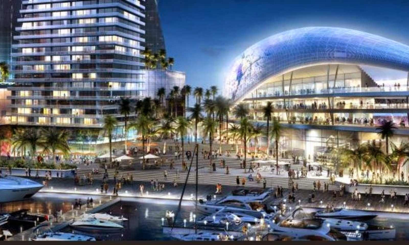 Patrocinada por el 02-Estadio-Port-Miami por Arquitectonica por David Beckham-