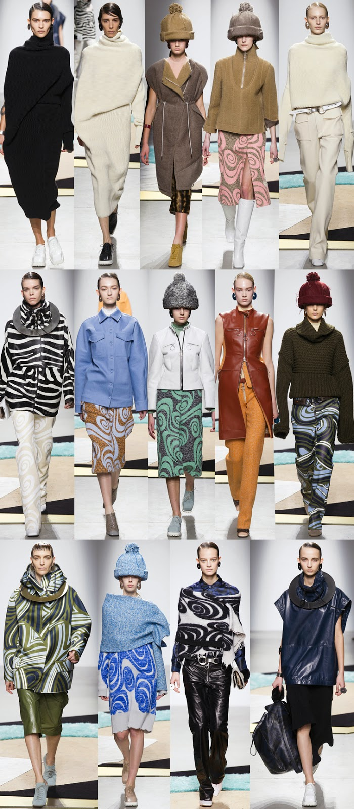 Acne Studios fall winter 2014 runway collection, PFW, FW14, AW14, Paris fashion week