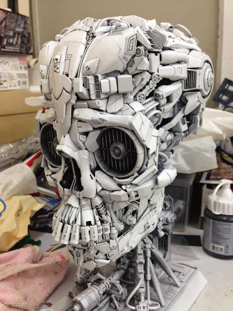 skeleton bandai gundam model kits