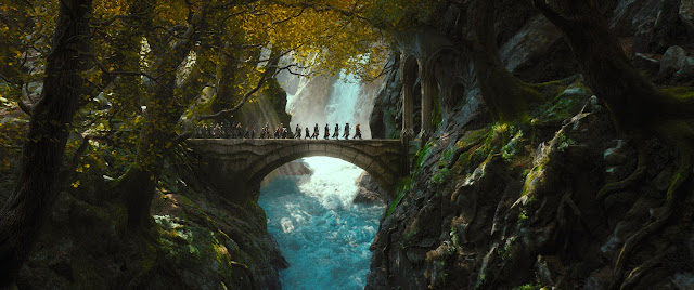 Bridge castle in The Hobbit 2: The Desolation of Smaug movie still image picture photo
