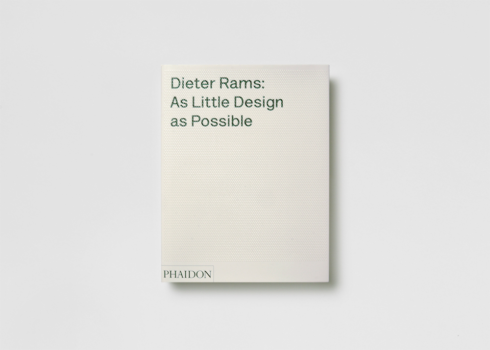 Adc studio dieter rams as little design as possible for Minimalist book design