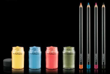 M·A·C Playland collection Pigments and Pencil