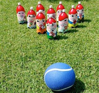 Ideas de Juegos de Bowling Reciclados