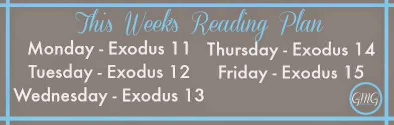 Reading Plan for Exodus