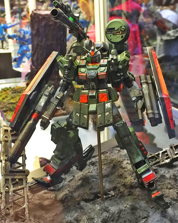 Gundam guy gunpla builders world cup 2015 gbwc hong kong acghk
