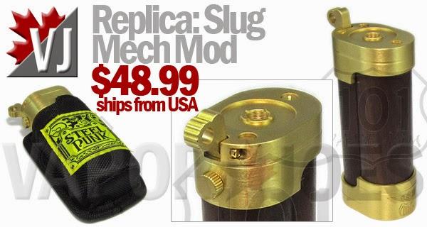 Replica: Slug 18650 Mechanical Mod in Pouch
