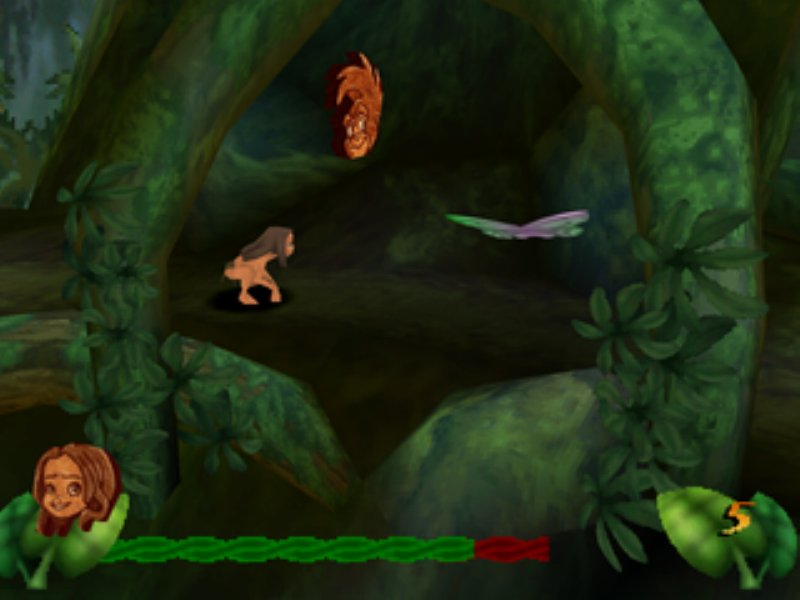 Disney's Tarzan Game ScreenShot