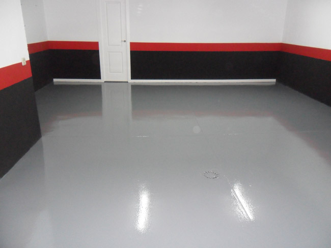 Pintura en garajes pintor en m laga presupuesto gratis for Pisos decoracion garajes