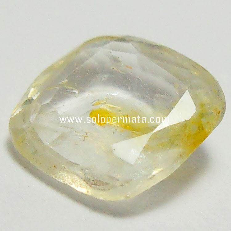 Batu Permata White Sapphire - 27A08