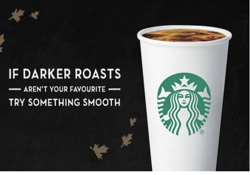 Starbucks Free Sample True North Blend Coffee