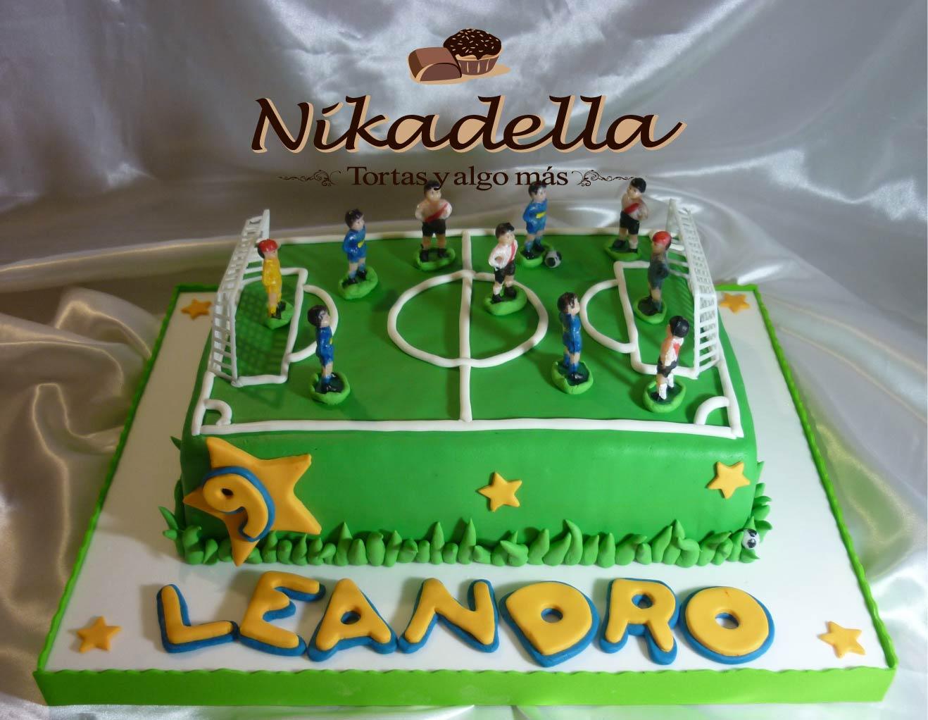 Torta Cancha De F  Tbol 9 A  Os Leandro