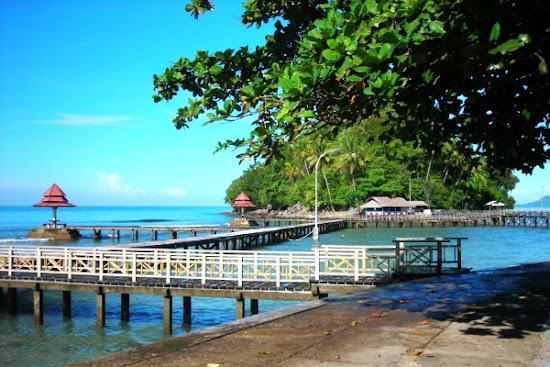 Carocok Beach, West Sumatera, Indonesia. AeroTourismZone