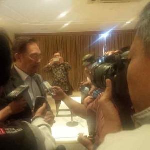 Ketua Umum KEADILAN, Datuk Seri Anwar Ibrahim