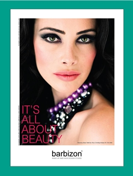 OFFICAL COVER GIRL OF BARBIZON