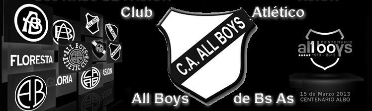 CLUBATLETICOALLBOYSDEBSAS - Sitio No Oficial del Club Atlético AllBoys - Argentina