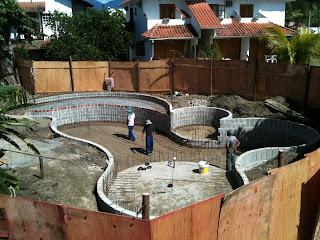 ferragem piscina concreto armado