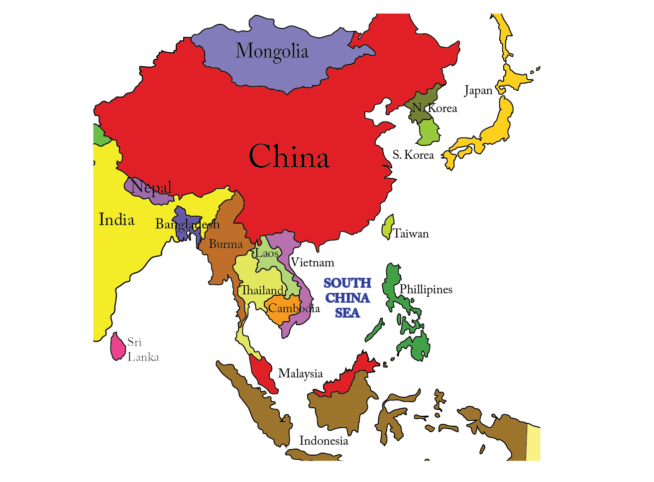 Emails to sarah news for people who dont read the news the navies see the map below this really annoys the countries of vietnam brunei malaysia taiwan singapore and the philippines because china is laying claim to gumiabroncs Choice Image