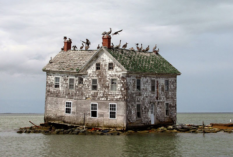 5. Last House on Holland Island, USA - 31 Haunting Images Of Abandoned Places That Will Give You Goose Bumps